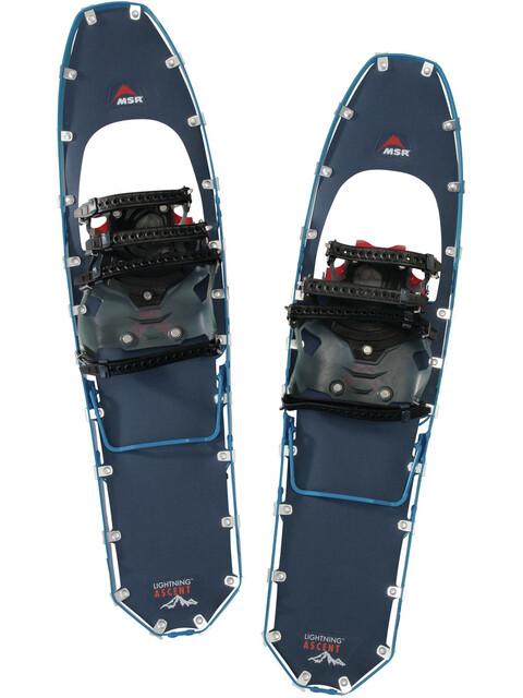 MSR Lightning Ascent 30 - Raquetas de nieve de aluminio - azul